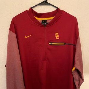 USC Trojans Nike Half-Zip Jacket